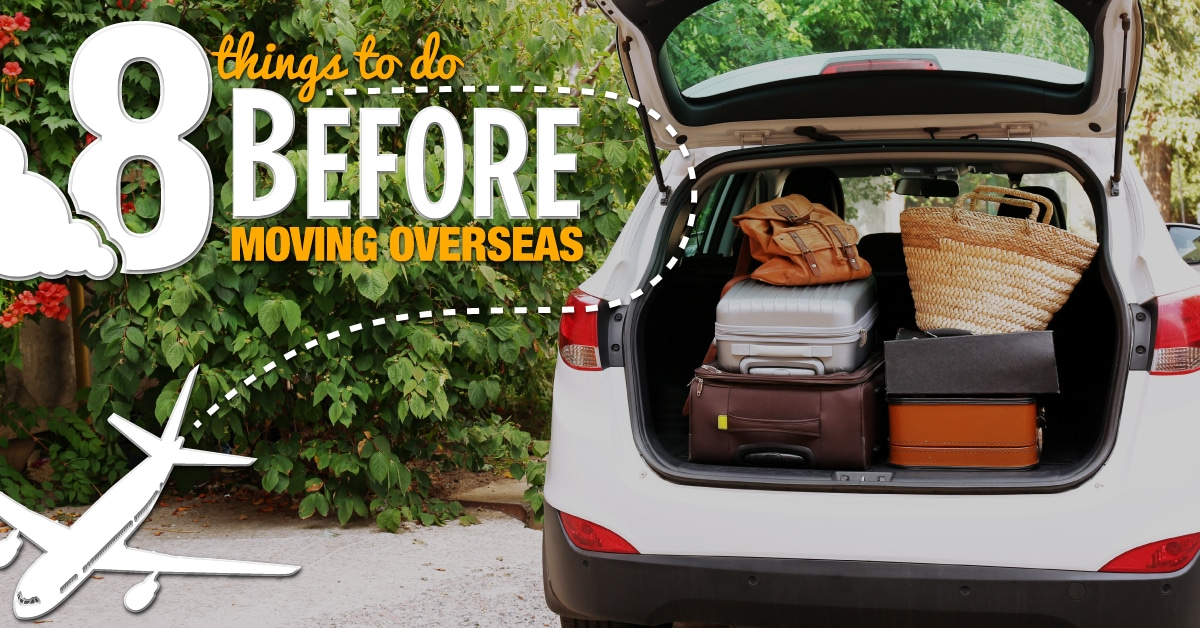 8 Things to do before moving overseas - Willship NZ