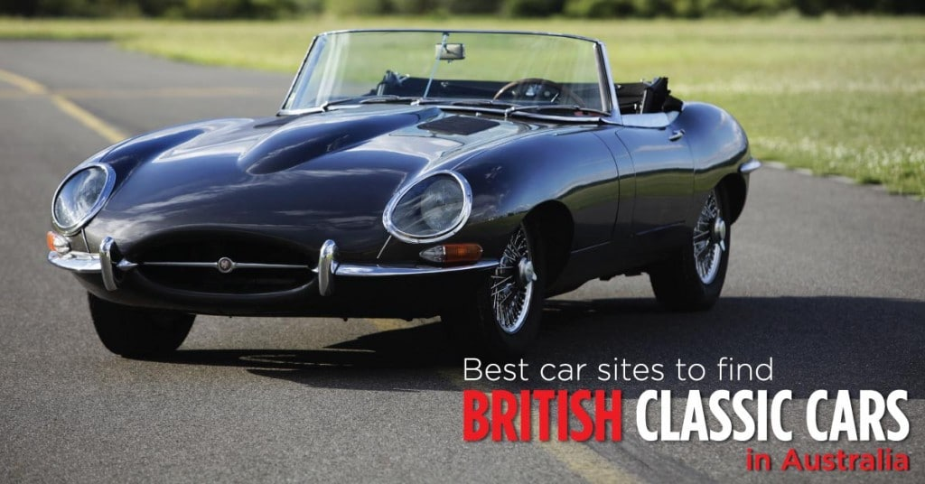 Best car sites to find British classic cars in Australia Image By WillShip NZ