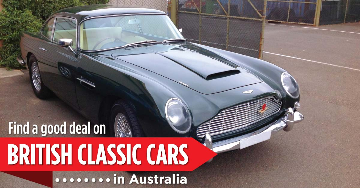 Find a good deal on british classic cars in australia - Willship NZ