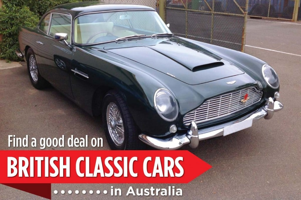 WillShip NZ Find A Good Deal on British Classic Cars in Australia header Image