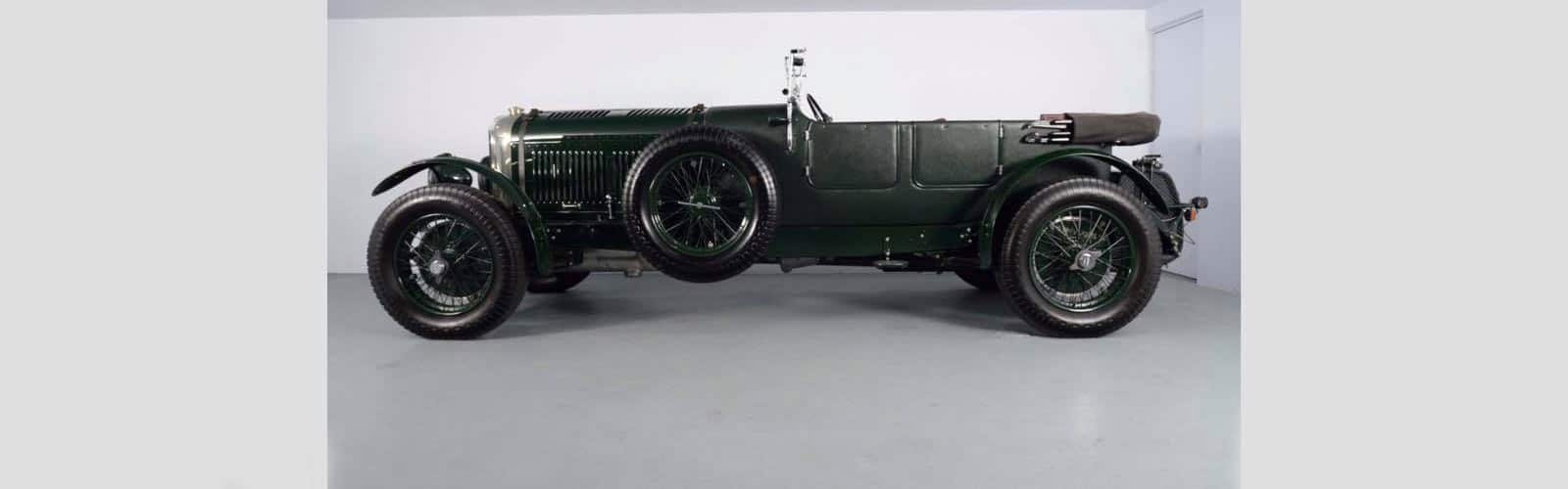 WillShip NZ HALF MILLION DOLLAR 1930 BENTLEY Image