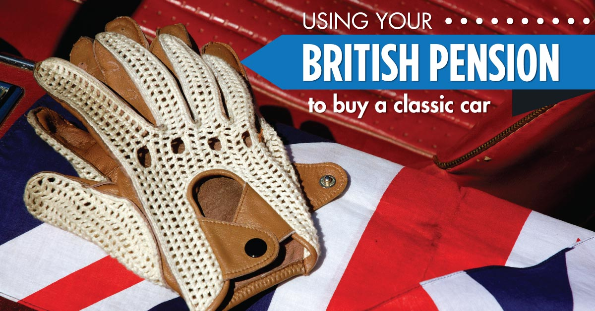 Using your brittish pension for classic car - Willship NZ